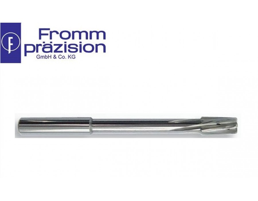 Fromm Solid Carbide Top-Speed Reamer TS3020 AC (Right hand cutting, non-uniform pitch, NC-shank)