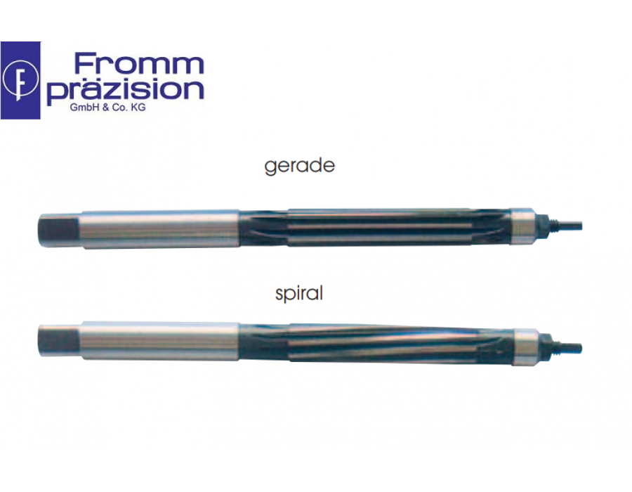 Fromm HSS Hand Reamer 302 DIN 859A/B, Expandable