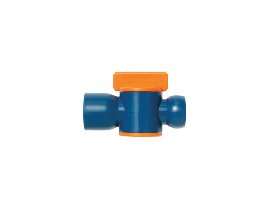 Loc-Line Female NPT Valve for 1/2