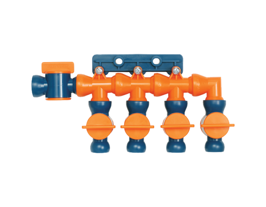 Loc-Line Total Flow Control Manifold Kit for 1/2