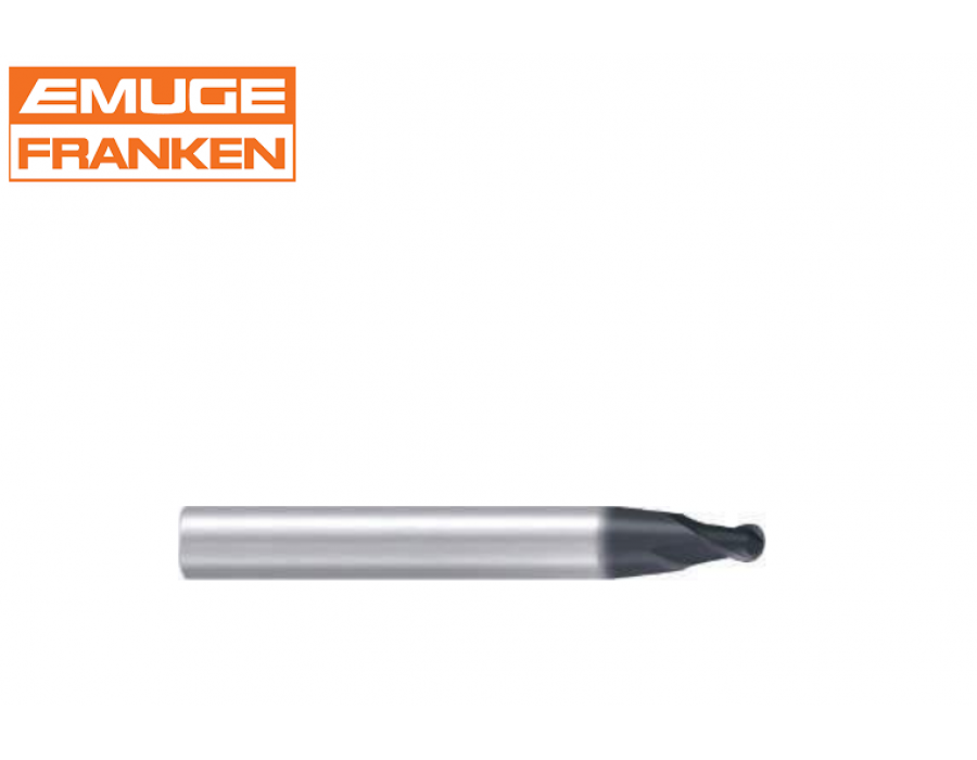 Franken Tapered Solid Carbide Ball Nose End Mills 3442L (with ALCR coating)