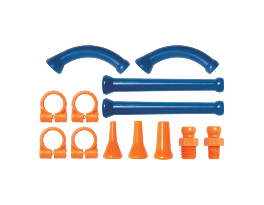 Loc-Line Mixed Extended Kit for 1/4