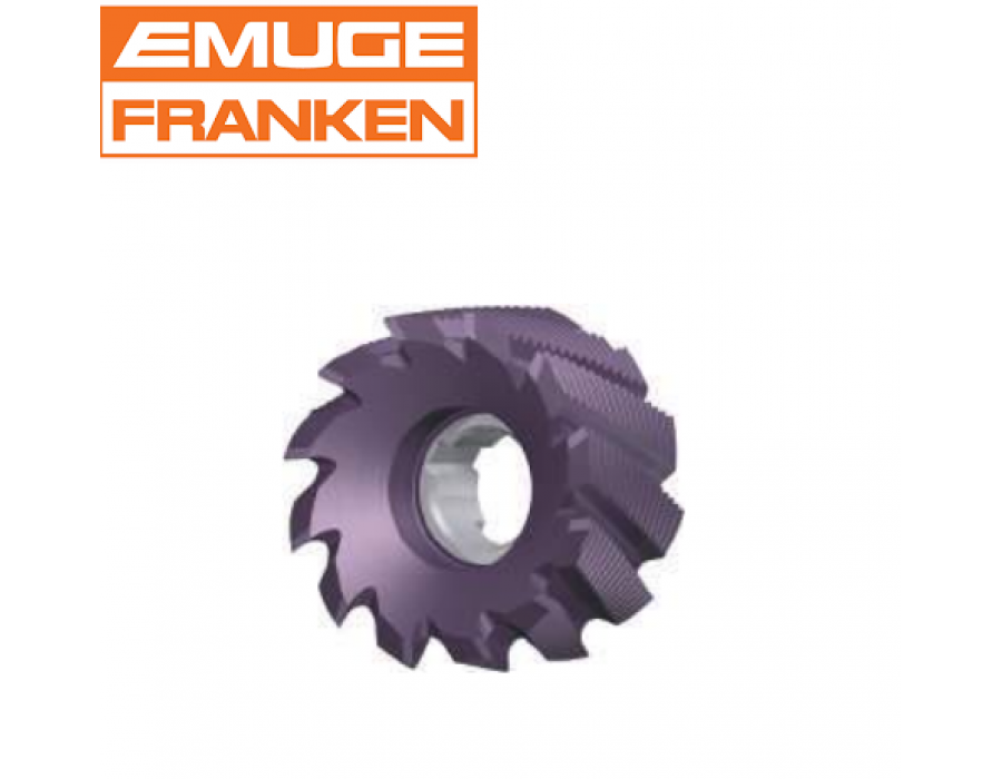 Franken HSS Roughing Shell End Mills 4090C (with TICN coating)