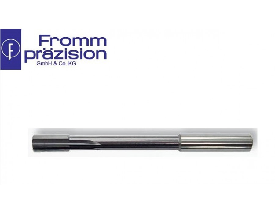 Fromm Solid Carbide Top-Speed Reamer TS5025 AC (Right hand cutting, non-uniform pitch, NC-shank)