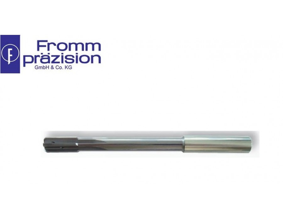 Fromm Solid Carbide Top-Speed Reamer TS5025 AS (Right hand cutting, non-uniform pitch, NC-shank)