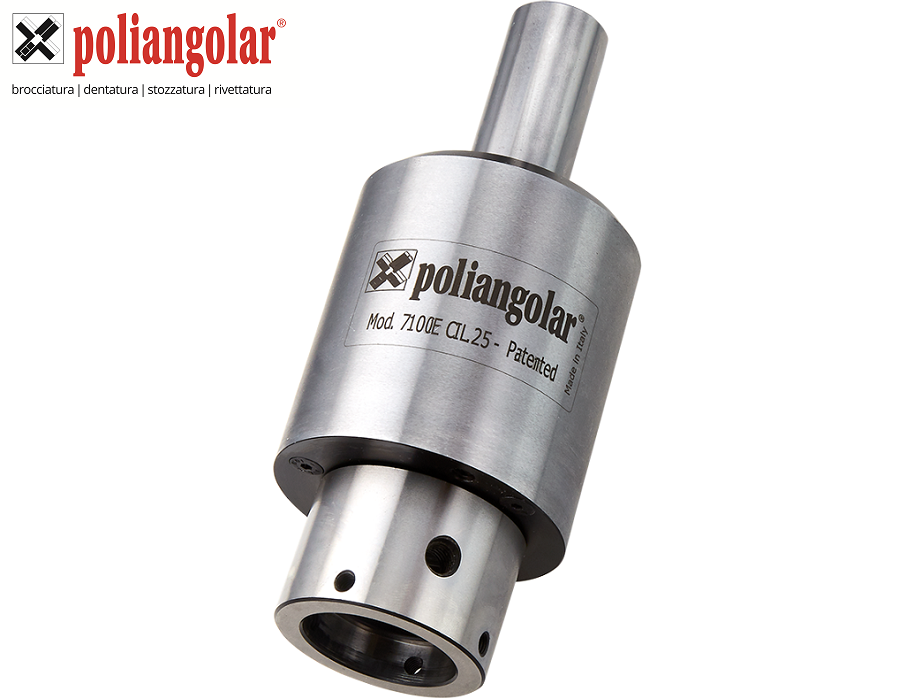 Poliangolar External Broaching 7100E Toolholders