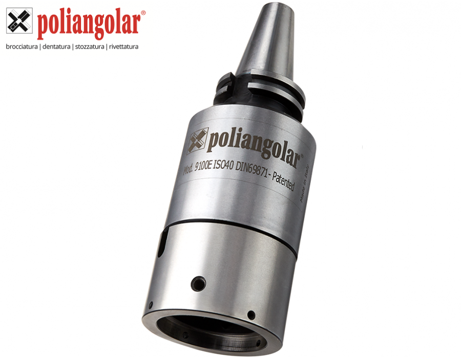 Poliangolar External Broaching 9100E Toolholders
