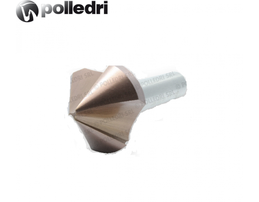 Polledri 3 Flutes Anti-Vibration Countersinks