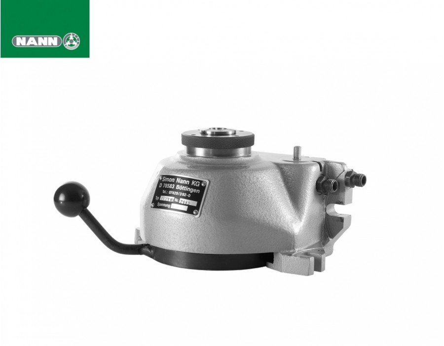 Nann Indexing Units - Type NPZT Pneumatic Clamping Units with Mechanical Indexing