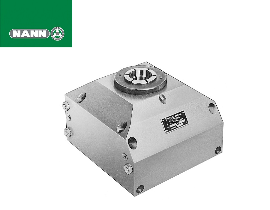Nann Indexing Units - Type PT Pneumatic Clamping and Indexing Units