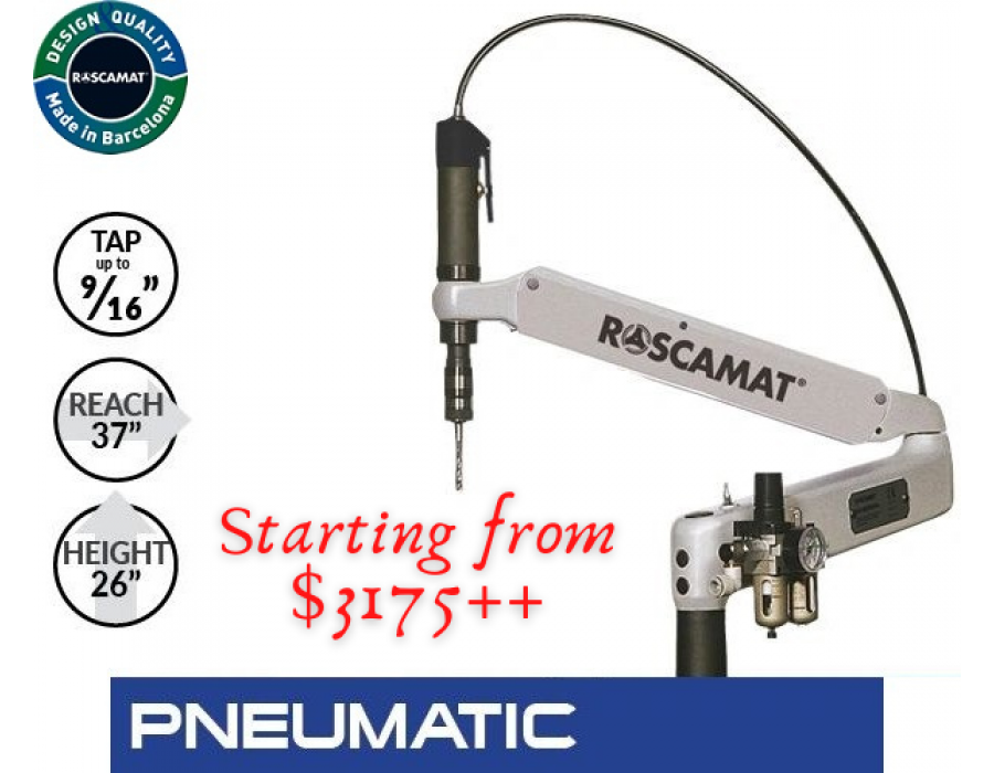 Roscamat Tapping Arm Machine