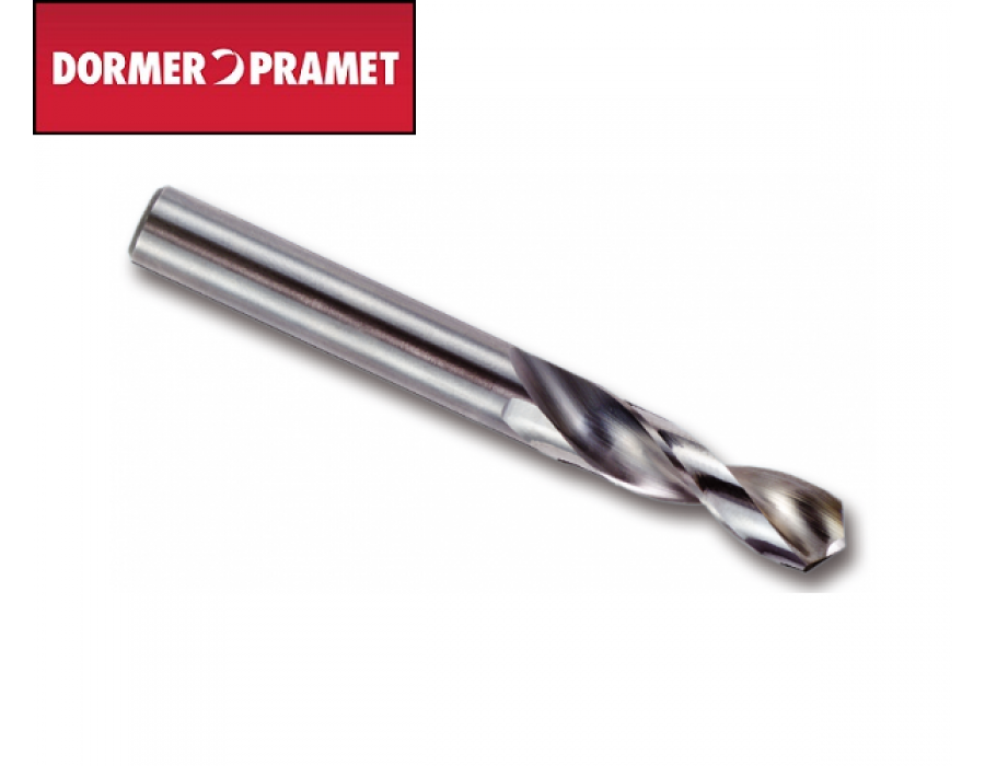 Dormer Solid Carbide Stub Drill
