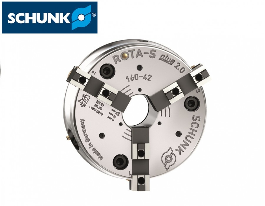 Schunk Manual Lathe Chuck (ROTA-S plus 2.0) - ISO 702-1
