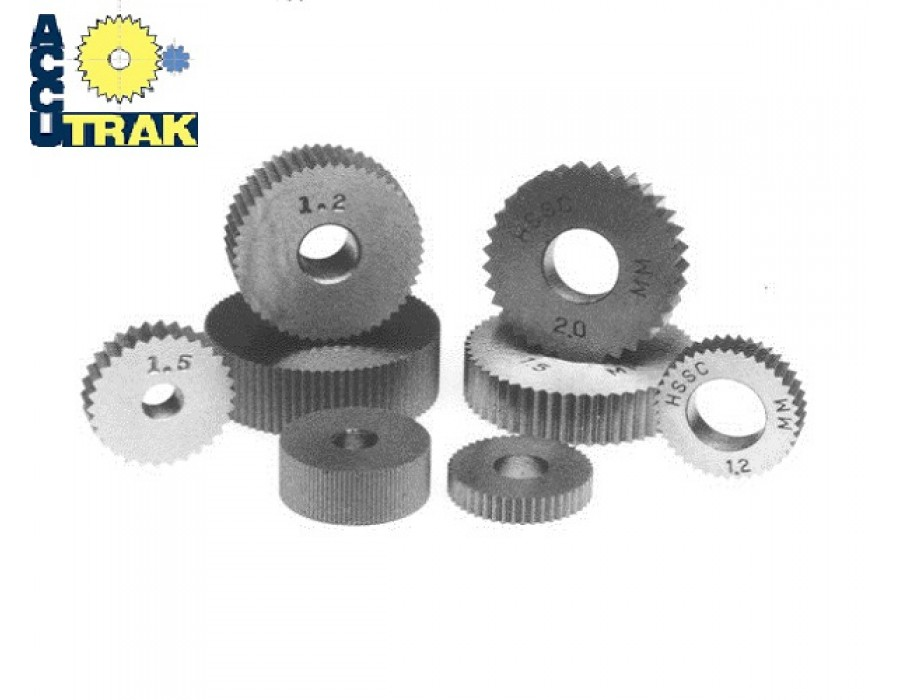 Accu Trak Metric Cut Type Knurls and Holders (CC Series)