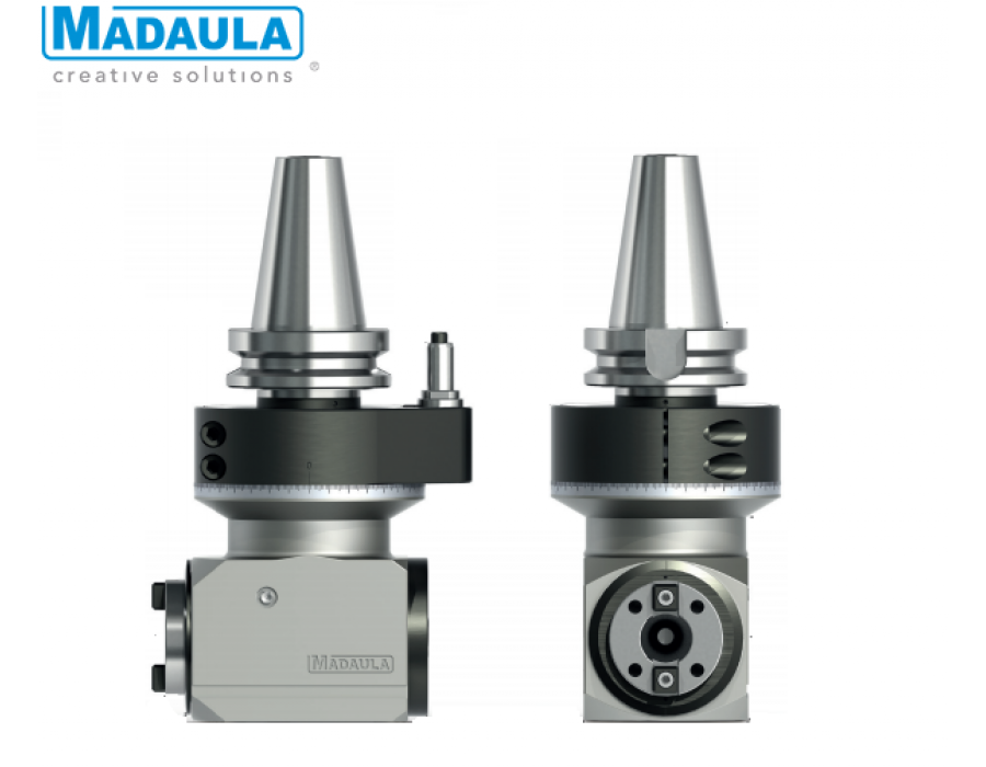 Maduala Angle Heads - CA Series (2 ISO-30)