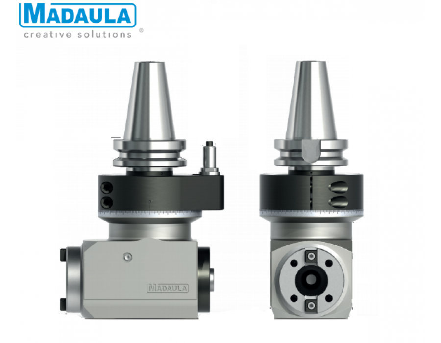 Maduala Angle Heads - CA Series (3 ISO-40)