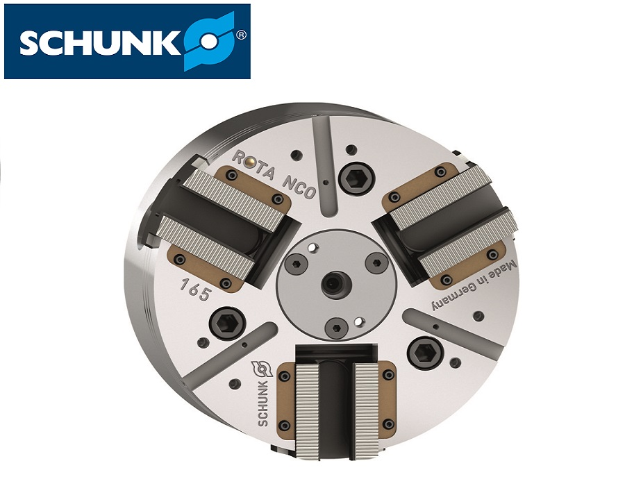 Schunk Power Lathe Chuck without Through-hole (ROTA NCO) - ISO 702-1