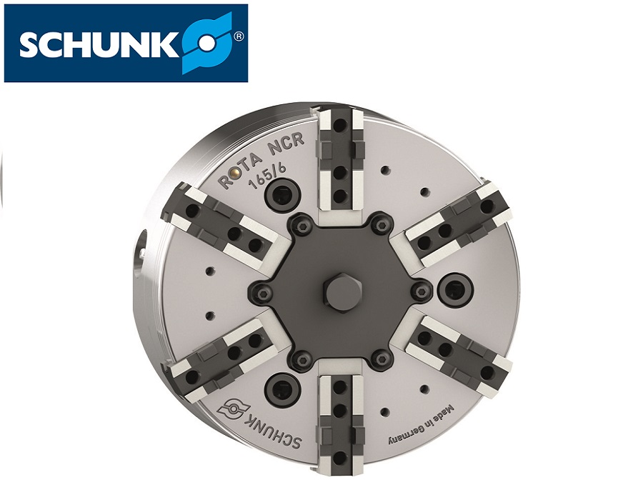 Schunk Power Lathe Chuck without Through-hole (ROTA NCR) - ISO 702-4
