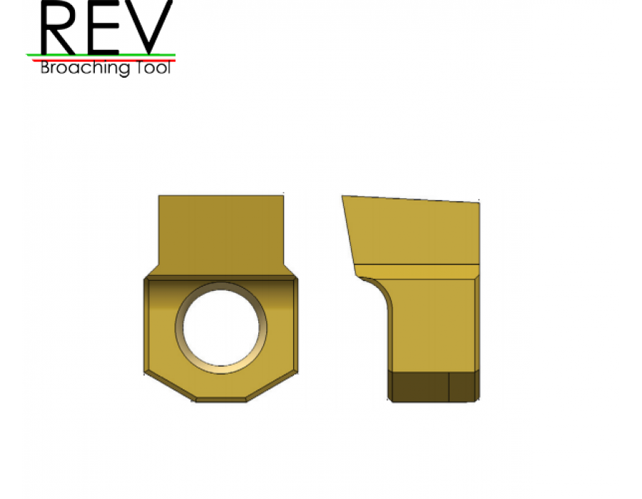 REV Broaching Tools Inserts (inches)